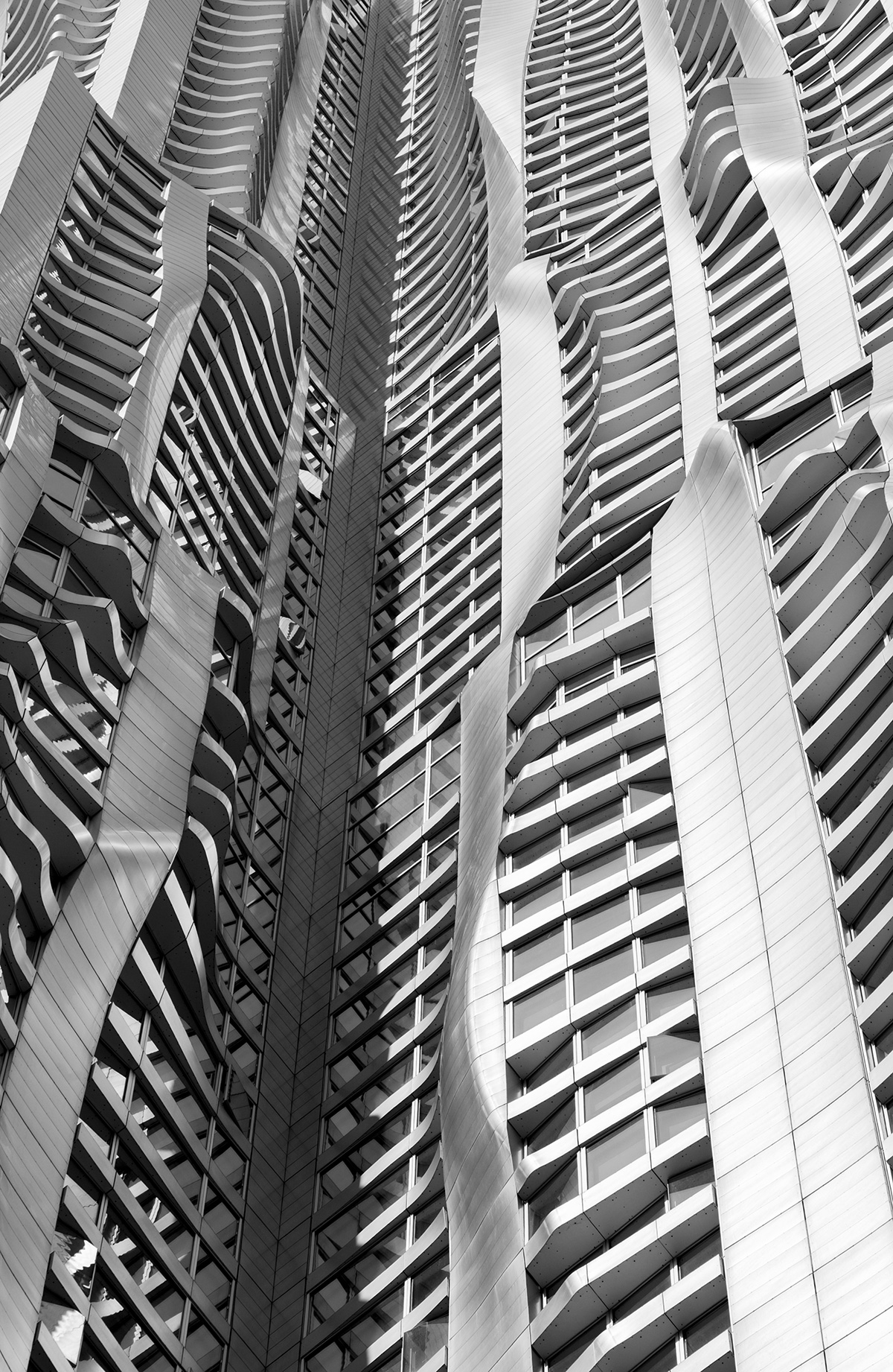 Downtown Manhattan, Architecture, Photography, Frank Gehry, Spruce Street