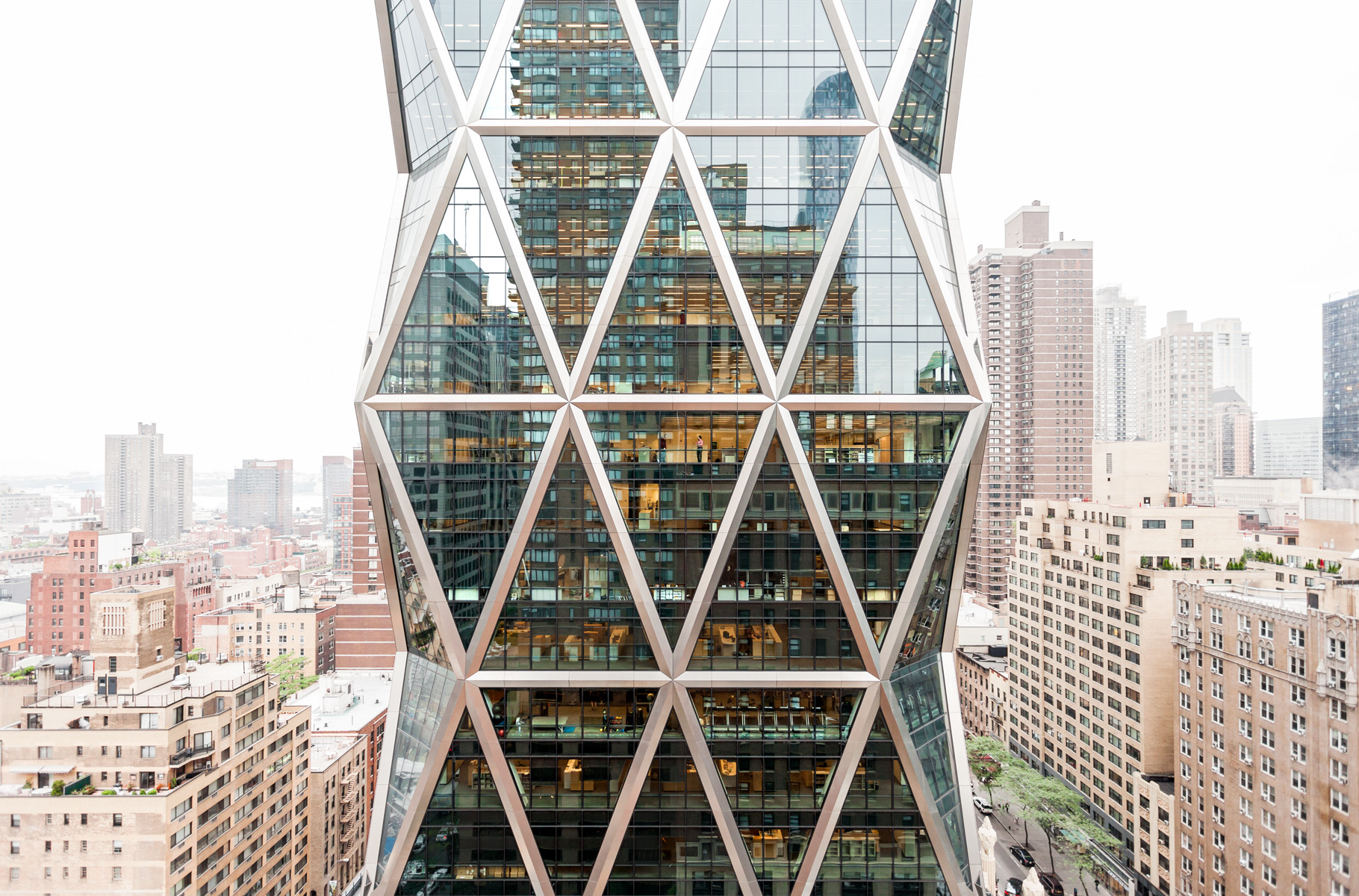Hearst Building, Architecture, Norman Foster